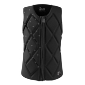 O'Neill Gem Comp Womens Life Vest 2017, Black-Black-Black, medium