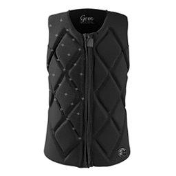 O'Neill Gem Comp Womens Life Vest 2017, Black-Black-Black, 256