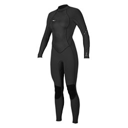 O'Neill Bahia 3/2mm Womens Full Wetsuit 2017, Black-Black-Black, 256