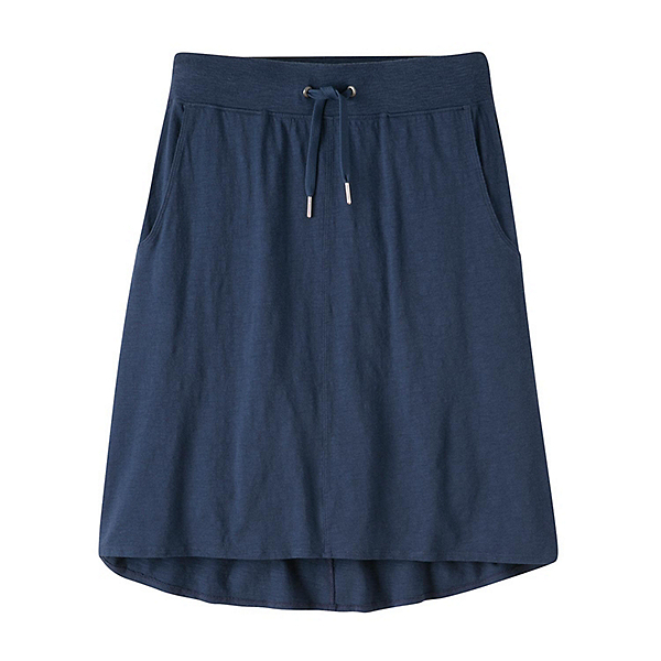 Mountain Khakis Solitude Relaxed Fit Skirt, Midnight Blue, 600