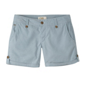 Mountain Khakis Island Relaxed Fit Womens Shorts, Blue Ridge, medium