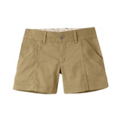 Mountain Khakis Camber 104 Hybrid Slim Fit Womens Shorts, Desert Khaki, medium