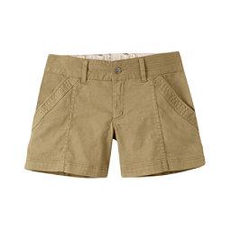 Mountain Khakis Camber 104 Hybrid Slim Fit Womens Shorts, Desert Khaki, 256