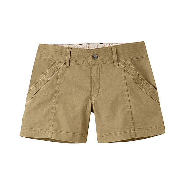 Mountain Khakis Camber 104 Hybrid Slim Fit Womens Shorts, Desert Khaki, 600