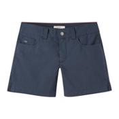 Mountain Khakis Poplin 7in Slim Fit Womens Shorts, Midnight Blue, medium