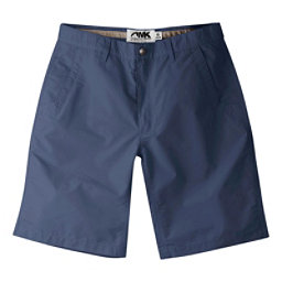 Mountain Khakis Poplin 10in Relaxed Fit Mens Shorts, Navy, 256