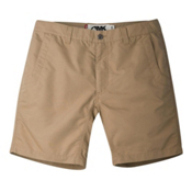 Mountain Khakis Poplin 10in Slim Fit Mens Shorts, Khaki, medium