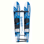 Connelly Cadet Junior Combo Water Skis With Child Slide Adjustable Bindings 2017, , medium