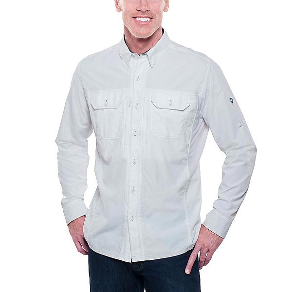 KUHL Thrive Long Sleeve Mens Shirt, White, 600