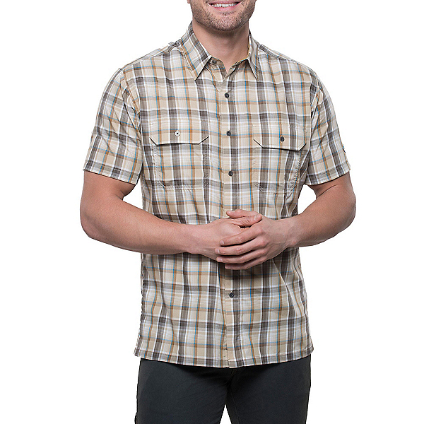 KUHL Response Short Sleeve Mens Shirt, Beach Wood, 600