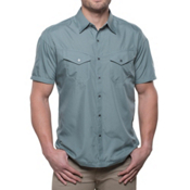 KUHL Stealth Mens Shirt, Metal Green, medium