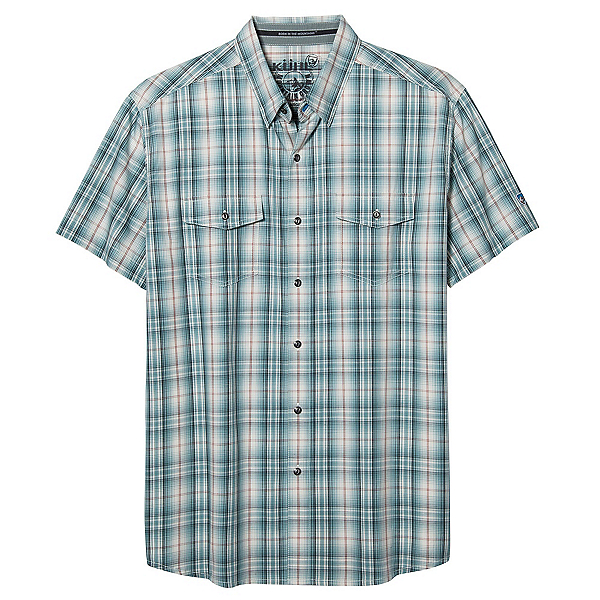 KUHL Brisk Mens Shirt, Seaglass, 600