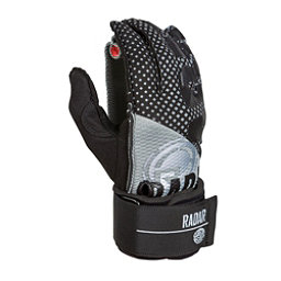 Radar Skis Vice Water Ski Gloves 2017, Black-Silver, 256