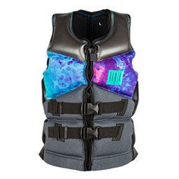 Ronix Limelight Capella Womens Life Vest 2017, Black-Turquoise, 256