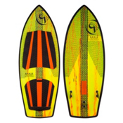 Ronix Koal Thruster 2 Wakesurfer 2017, Yellow-Orange Paint Drip, medium