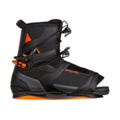 Ronix Network Wakeboard Bindings 2017, Space Black-Electric Orange, medium