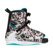 Ronix Halo Womens Wakeboard Bindings 2017, Pearlescent Floral, medium