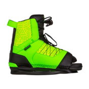 Ronix Vision Kids Wakeboard Bindings 2017, Psycho Green-Neon Butter, medium