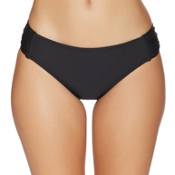 Next Good Karma Chopra Bathing Suit Bottoms, Black, medium
