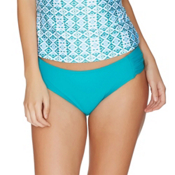 Next Good Karma Chopra Bathing Suit Bottoms, Teal, medium