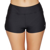 Next Good Karma Jump Start Bathing Suit Bottoms, Black, medium