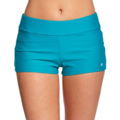 Next Good Karma Jump Start Bathing Suit Bottoms, Teal, medium