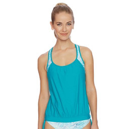 Next Serenity Double Up Tankini Bathing Suit Top, , 256
