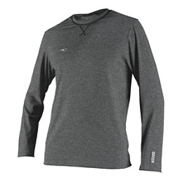 O'Neill Hybrid Long Sleeve Surf Mens Rash Guard, Graphite, 256