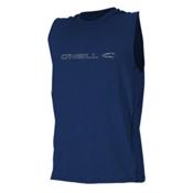 O'Neill Hybrid Sleeveless Mens Rash Guard, Navy, medium
