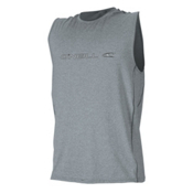 O'Neill Hybrid Sleeveless Mens Rash Guard, Cool Grey, medium