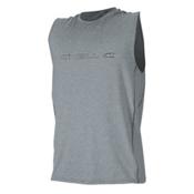 O'Neill Hybrid Sleeveless Mens Rash Guard, Cool Grey, medium