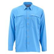 Simms Ebbtide Long Sleeve Mens Shirt, Harbor Blue, medium