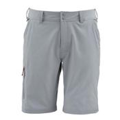 Simms Skiff Mens Hybrid Shorts, Concrete, medium