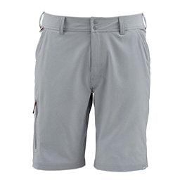 Simms Skiff Mens Hybrid Shorts, Concrete, 256