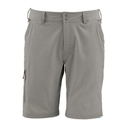 Simms Skiff Mens Hybrid Shorts, Tumbleweed, 256
