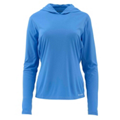 Simms Solarflex Womens Hoodie, Harbor Blue, medium