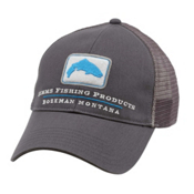 Simms Trout Trucker Hat, Anvil, medium