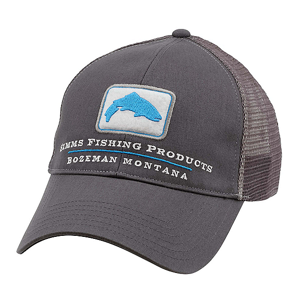 Simms Trout Trucker Hat, Anvil, 600