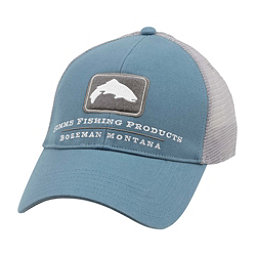 Simms Trout Trucker Hat, Blue Stream, 256