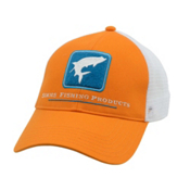 Simms Tarpon Trucker Hat, Burnt Orange, medium