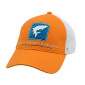 Simms Tarpon Trucker Hat, Burnt Orange, medium