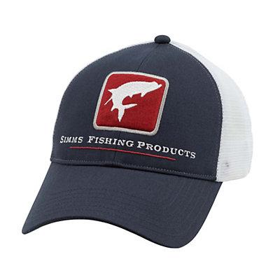 Simms Tarpon Trucker Hat, Burnt Orange, viewer