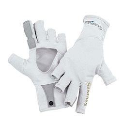 Simms SolarFlex SunGlove Paddling Gloves 2017, Grey, 256