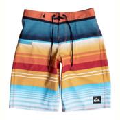 Quiksilver Everyday Stripe Vee Boys Bathing Suit, Nasturticm, medium