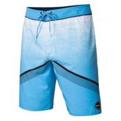 O'Neill Hyperfreak Mens Board Shorts, Neon Blue, medium