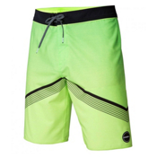O'Neill Hyperfreak Mens Board Shorts, Neon Green, medium