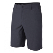 O'Neill Loaded Heather Hybrid Mens Hybrid Shorts, Heather Black, medium
