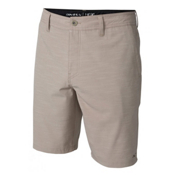 O'Neill Locked Slub Mens Hybrid Shorts, Khaki, medium