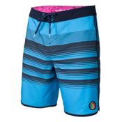 O'Neill Hyperfreak Generator Scallop Mens Board Shorts, Neon Blue, medium