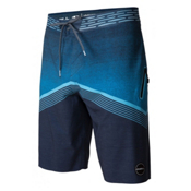 O'Neill Hyperfreak Hydro Mens Board Shorts, Navy, medium